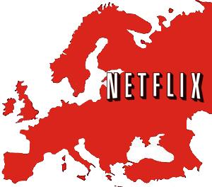 Crecimiento de Netflix en Europa