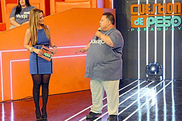 """Grandes ratings para """"Cuestión de Peso"""" en Telefuturo de Paraguay"""