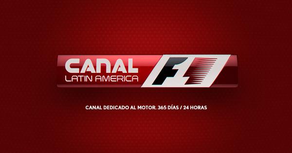 Canal F1 Latin America  disponible en  Cablevisión Digital