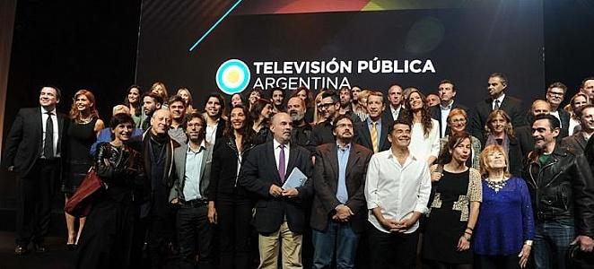 Lanzamiento de la Televisión Pública Argentina