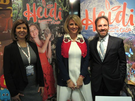"""Mondo TV Spain y Alianza Producciones unidos por """"Heidi, bienvenida a casa"""""""