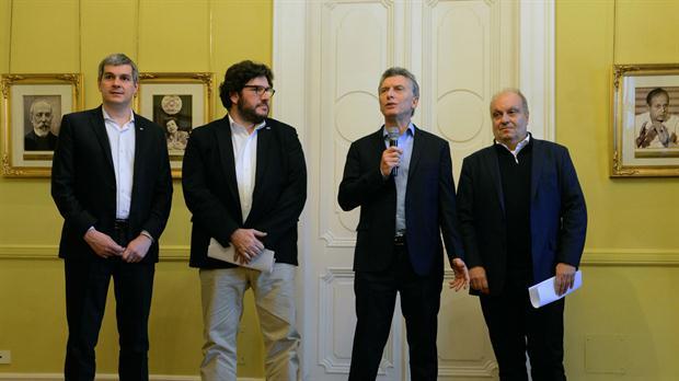 El presidente Macri presentó el Plan de Fomento Audiovisual