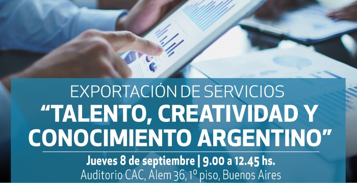 """Seminario: """"Talento, creatividad y conocimiento argentino"""""""