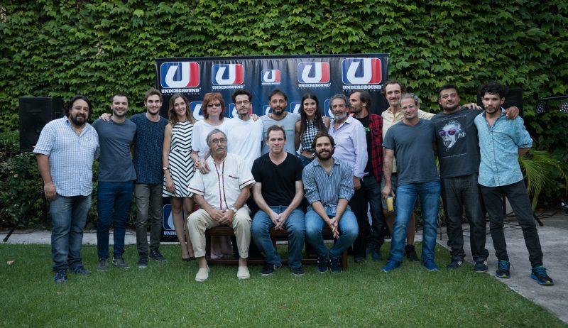 TNT y Underground presentaron el elenco de Un Gallo para Esculapio