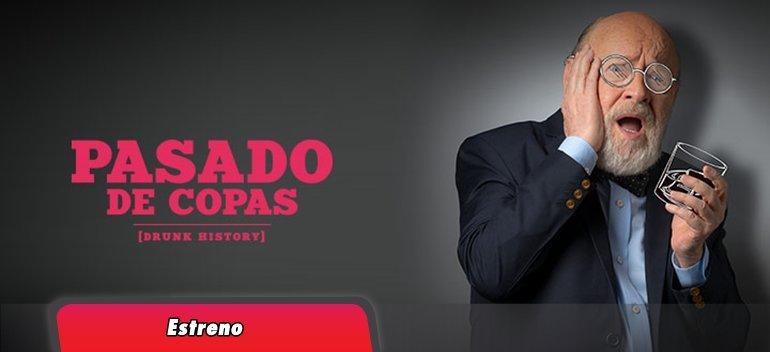 VIACOM LANZÓ EN ARGENTINA «PASADO DE COPAS, DRUNK HISTORY»